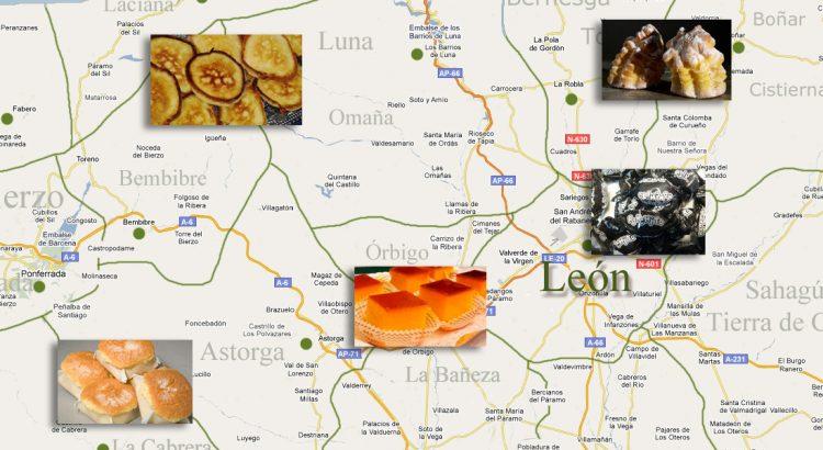 dulces típicos de León