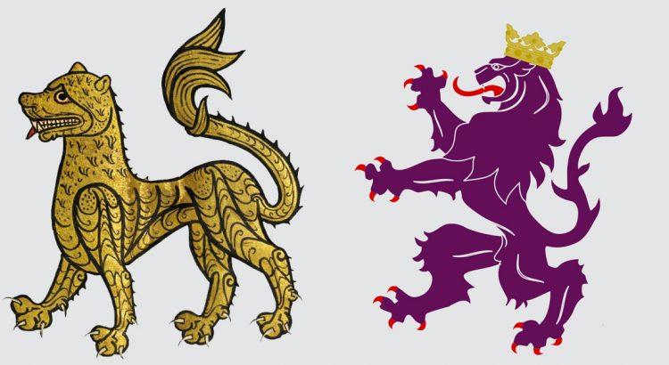 emblema-heráldico-Reino-León-el-más-antiguo-Europa